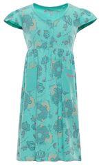 ALPINE PRO Dívčí šaty SARKO - zelené
