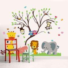 Walplus Zvířatka u stromu FL69WS001