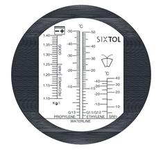 SIXTOL Refraktometr na měření provozních kapalin automobilu, SIXTOL