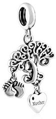 Infinity Love Stříbrný přívěsek pro maminku HSD-1136-D stříbro 925/1000