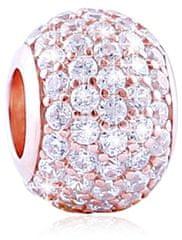 Infinity Love Błyszcząca kulka ze srebra RSZ-223-WS srebro 925/1000