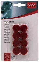 Nobo magnetki, 1/8, 20mm