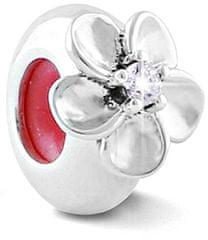 Infinity Love Ezüst gyöngyfék virággal HSZ-1227-D ezüst 925/1000
