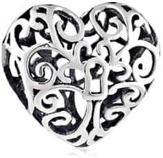 Infinity Love Ezüst gyöngy filigrán szív HS-743-D ezüst 925/1000