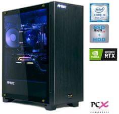 PCX namizni računalnik EXIES i9-9900KF/16GB/SSD500GB+2TB/RTX2080/FreeDOS (PCX EXIES E3)