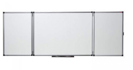 Nobo magnetna preklopna tabla 120 x 90 cm