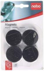 Nobo magnetki, 38mm, 1/4