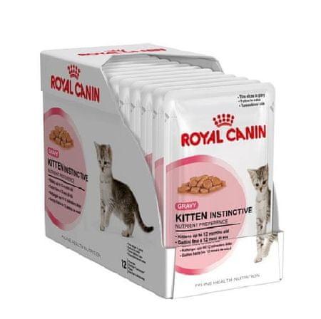 Royal Canin saszetki dla kota kitten Instinctive 12 - 12 x 85 g