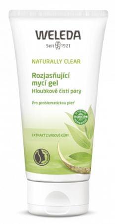 Weleda Naturally Clear rozjasňujúci umývací gél na problematickú pleť