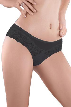 MoDo Női alsónemű 82 black + Nőin zokni Gatta Calzino Strech, fekete, XL