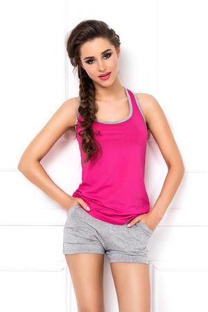 DKaren Női pizsama Aklina, többszínű, XS