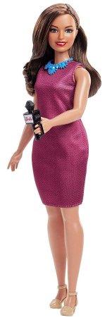 Mattel Barbie karrier baba 60. évforduló Műsorvezető
