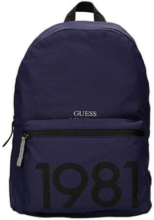 Guess unisex tmavě modrý batoh HM6115NYL73BLT