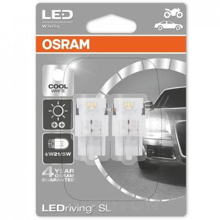 Osram žarnica LED/12V/W21/5W/6000k, 2 kosa