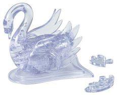 HCM Kinzel 3D Crystal puzzle Labuť bílá 44 dílků