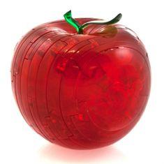 HCM Kinzel 3D Crystal puzzle Jablko červené 44 dílků