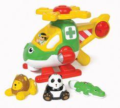 Wow Harry veterinářská helikoptéra