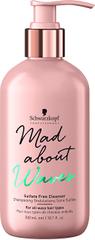 Schwarzkopf Prof. Jemný Bezsulfátový šampón pre vlnité vlasy Mad About Waves (Sulfate Free Cleanser) 300 ml