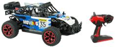Teddies Auto RC buggy modré plast 28cm s diaľkovým ovládaním
