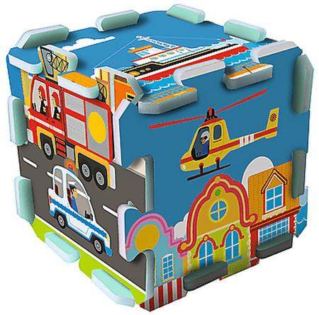 Trefl puzzle piankowe - środki transportu