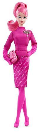 Mattel lalka Barbie na 60 - lecie różu