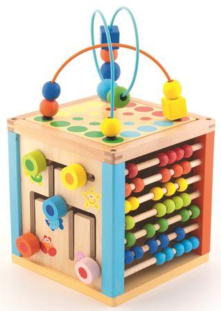 Trefl Tanuló kocka, fa Wooden Toys