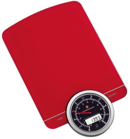 Zassenhaus Digitální váha SPEED červená