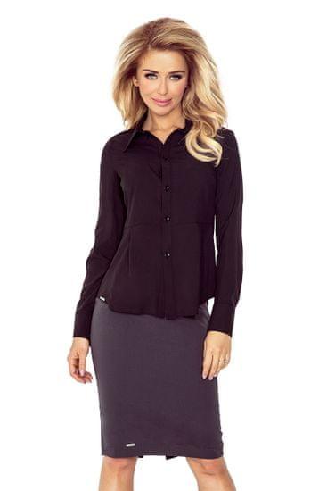Morimia Dámska košeľa 016-3 + Nadkolienky Sophia 2pack visone, čierna, XS