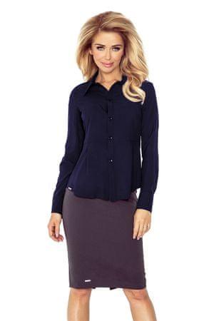 Morimia Női ing 016-5, sötét kék, M