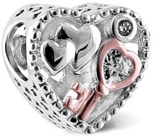 Infinity Love Ezüst gyöngy kulcs a szívhez HSZ-1154-S ezüst 925/1000