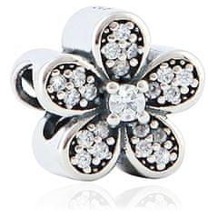 Infinity Love Błyszcząca kulka kwiatowa HSZ-267-D srebro 925/1000