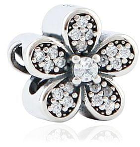 Infinity Love Csillogó virággyöngy ezüstből HSZ-267-D ezüst 925/1000