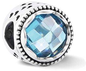 Infinity Love Błyszczące Srebrny Koralik HSZ-1240-D srebro 925/1000
