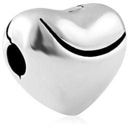 Infinity Love Srebrna kroglica v obliki srca HCL-200-D srebro 925/1000