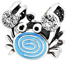 Infinity Love Stříbrný korálek Krab HE-801-D stříbro 925/1000