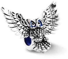 Infinity Love Stříbrný korálek brzdička se sovou HE-882-D stříbro 925/1000