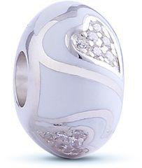 Infinity Love HE-361-S Heart Bead srebro 925/1000