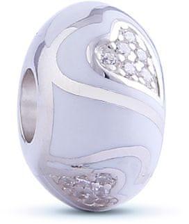 Infinity Love HE-361-S szívgyöngy ezüst 925/1000