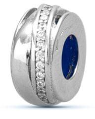 Infinity Love Stříbrný korálek brzdička HSZ-1172-D stříbro 925/1000