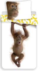 Jerry Fabrics dječja posteljina, motiv orangutana