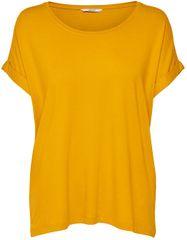 ONLY Damska koszulka Moster S / S O-Neck Top Noos Jrs Gold pl Yellow