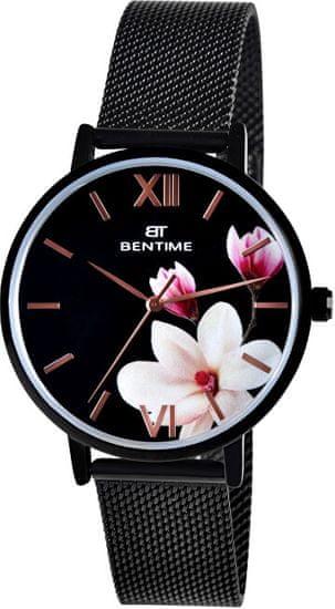 Bentime Dámské květinové hodinky 008-9MB-PT11894Y