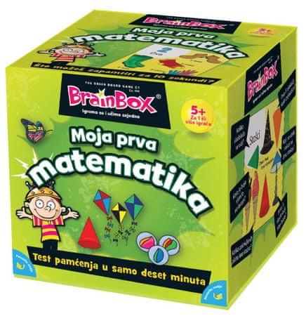 BRAINBOX društvena igra Moja prva matematika (HR 98539)