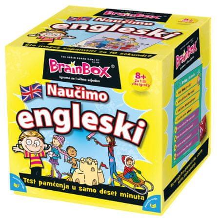 BRAINBOX društvena igra Naučimo engleski (HR 98552)
