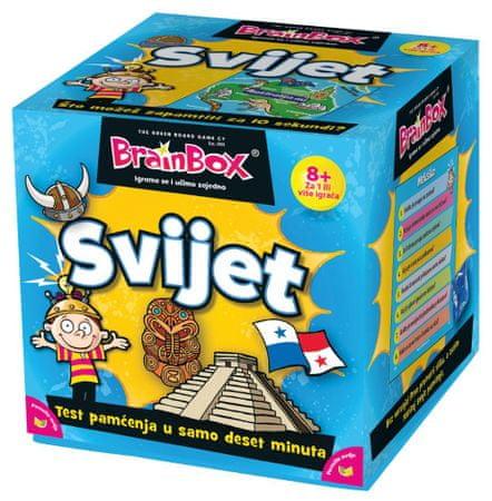 BRAINBOX društvena igra Svijet (HR 98501)