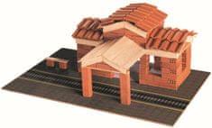 Trefl stacja kolejowa Brick Trick