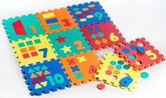 Wiky Pěnové puzzle Počítání/Tvary