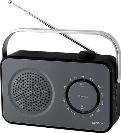 SENCOR radio przenośne SRD 2100, czarny