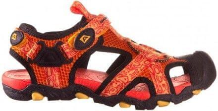ALPINE PRO chlapecké sandály Barbielo oranžová 31