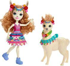 Mattel Enchantimals Panenka Fleecy a lama Lluella Llama